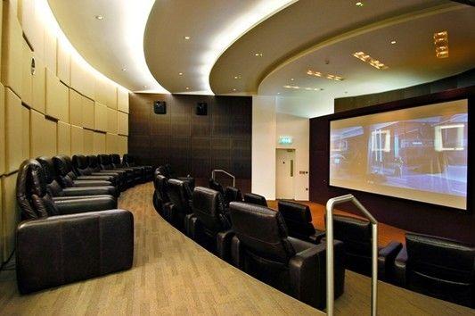 Cinema Room of East Tower, Pan Peninsula Square, Canary Wharf E14