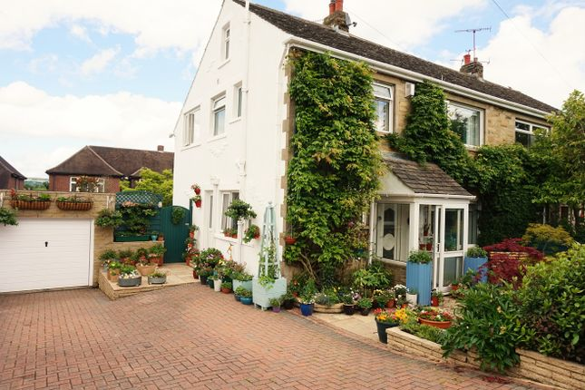 Thumbnail Semi-detached house for sale in Ashfield Road, Nab Wood
