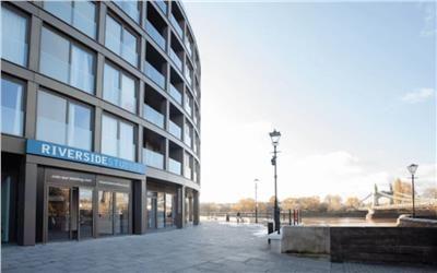Office to let in Riverside Studios, Queen Caroline Street, London, Greater London