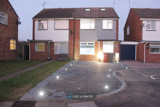 Thumbnail Semi-detached house to rent in Lorne Close, Slough