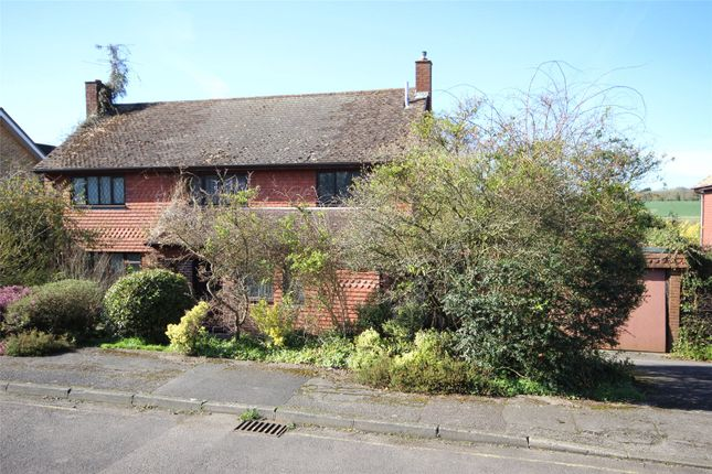 Thumbnail Detached house for sale in Weybank, Bentley, Farnham, Hampshire