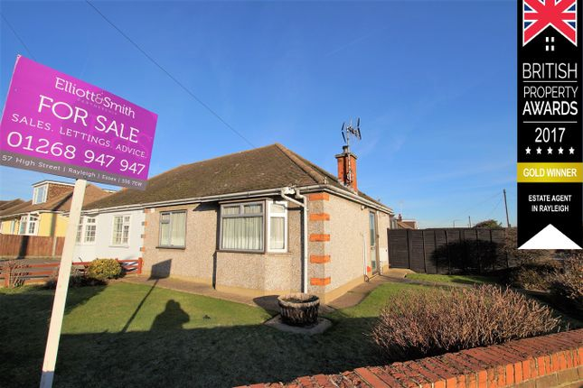 Thumbnail Bungalow for sale in Purleigh Road, Rayleigh