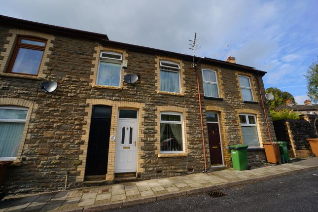 Thumbnail Terraced house for sale in Llanover Street, Abercarn, Newport