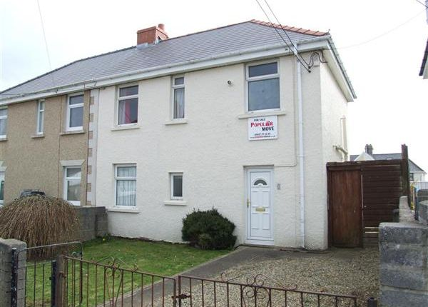 Thumbnail Semi-detached house to rent in Nelson Avenue, Hakin, Milford Haven