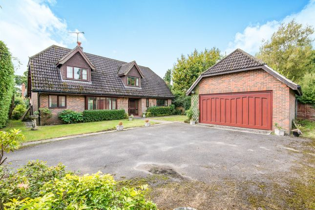 Thumbnail Detached house for sale in Fir Tree Road, Cadnam, Southampton