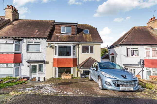 4 bed end terrace house for sale in Widdicombe Way, Brighton