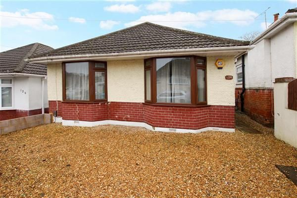 Thumbnail Bungalow for sale in Victoria Road, Parkstone, Poole