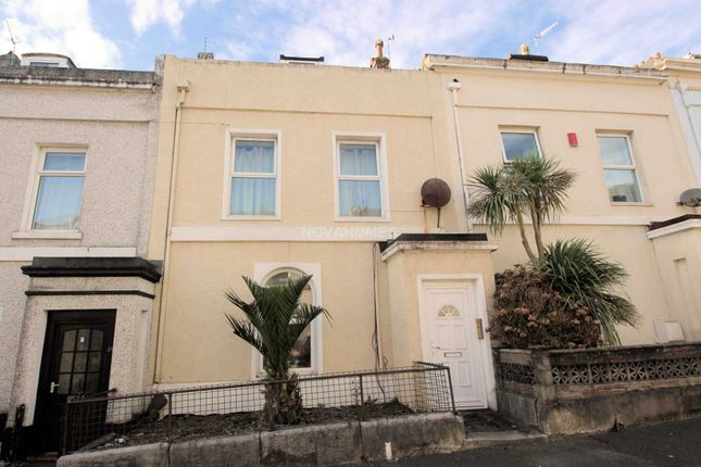 Thumbnail Terraced house for sale in Prospect Street, North Hill, Plymouth