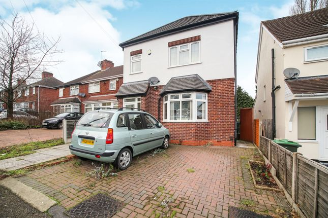 Thumbnail Detached house for sale in William Road, Bearwood, Smethwick