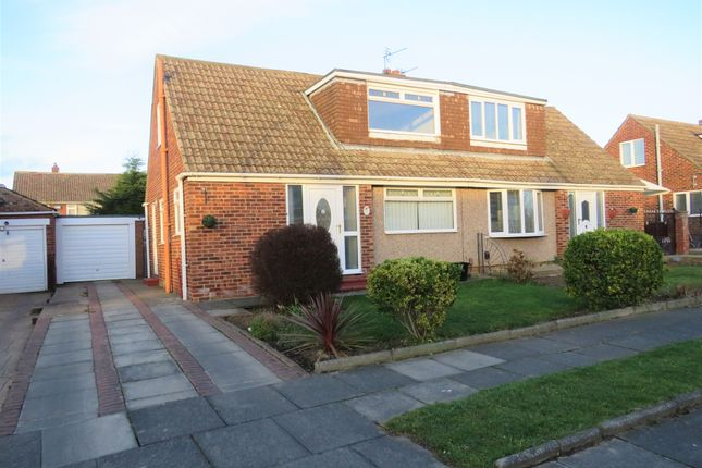 Thumbnail Semi-detached bungalow for sale in Mowbray Road, Hartlepool