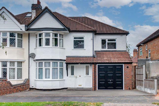 Thumbnail Semi-detached house for sale in Gresham Road, Birmingham