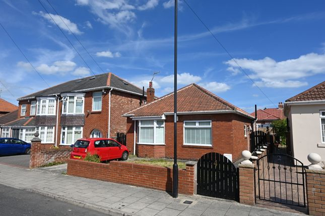 Thumbnail Detached bungalow for sale in Hall Avenue, Fenham, Newcastle Upon Tyne