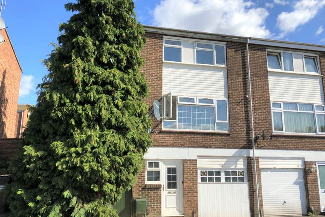 Thumbnail Town house for sale in Weekes Drive, Cippenham, Slough