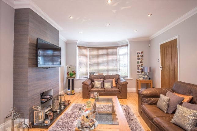 Thumbnail Semi-detached house for sale in Woodcote Avenue, Mill Hill, London