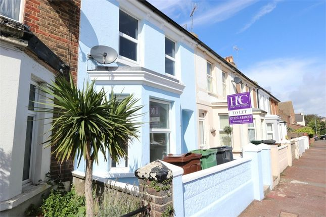 Thumbnail Terraced house to rent in Latimer Road, Eastbourne, East Sussex