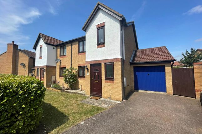 3 bed semi-detached house to rent in Sullivan Crescent, Browns Wood, Milton Keynes MK7