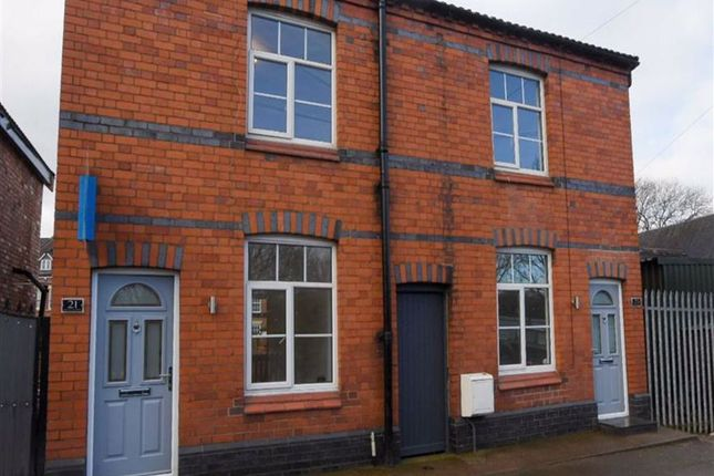 Thumbnail Semi-detached house for sale in First Wood Street, Nantwich, Cheshire