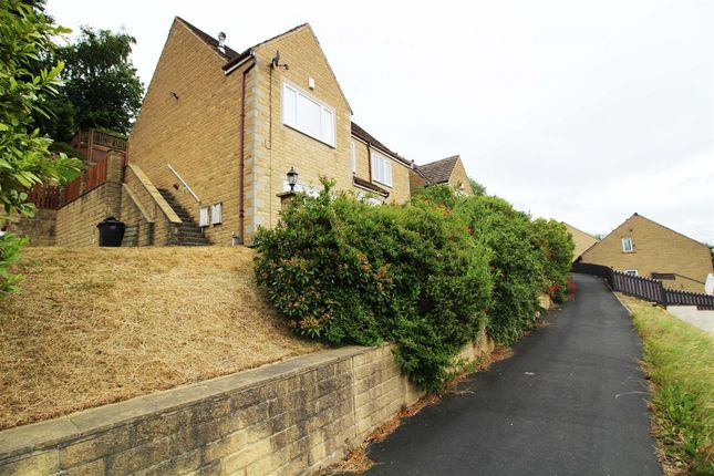 Thumbnail Detached house for sale in Highfields, Off Wakefield Road, Sowerby Bridge