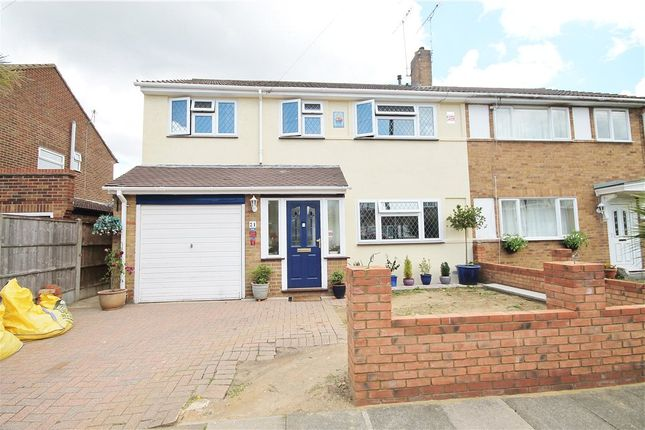 Thumbnail Semi-detached house for sale in Garden Close, Ashford, Surrey