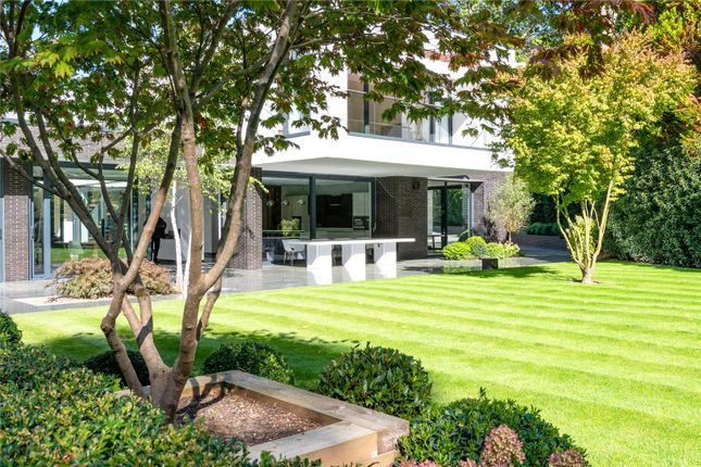 Thumbnail Detached house for sale in Main Island Wentworth, Wentworth, Surrey