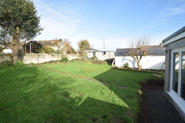 Rear Gardens of Church Road, Mabe Burnthouse, Penryn TR10