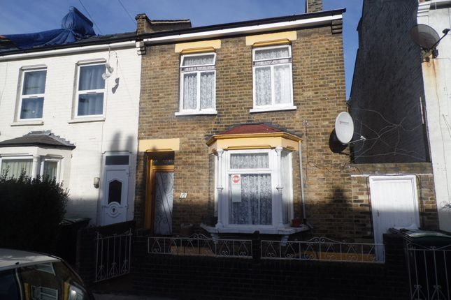 Thumbnail End terrace house for sale in Argyle Road, Tottenham