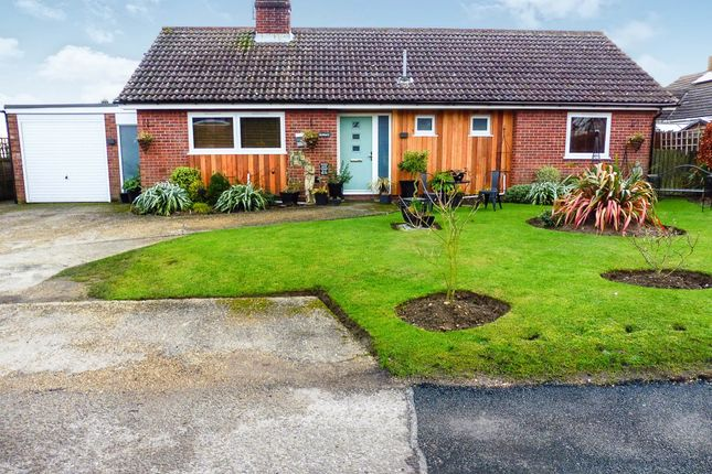 Thumbnail Detached bungalow for sale in Coldham Lane, Gislingham, Eye