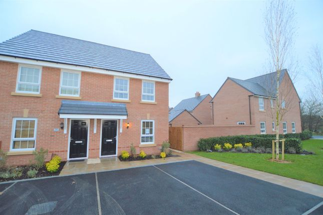 Thumbnail Semi-detached house to rent in Ettrick Way, Lubbesthorpe, Leicester