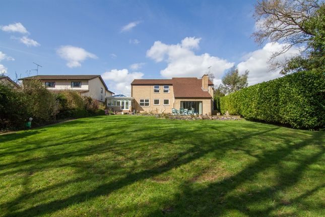 Thumbnail Detached house for sale in Crofta, Lisvane, Cardiff