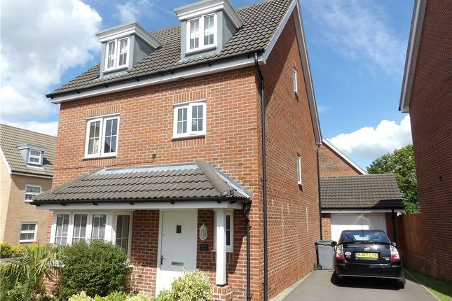 Thumbnail Detached house for sale in Wellstead Way, Hedge End, Southampton
