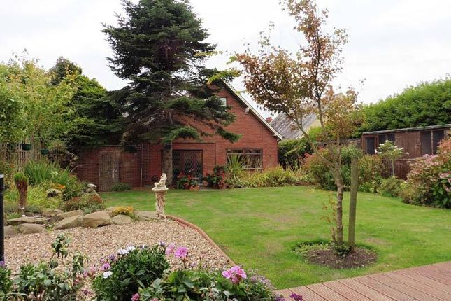 Thumbnail Detached bungalow for sale in Crabtree Road, Thornton-Cleveleys