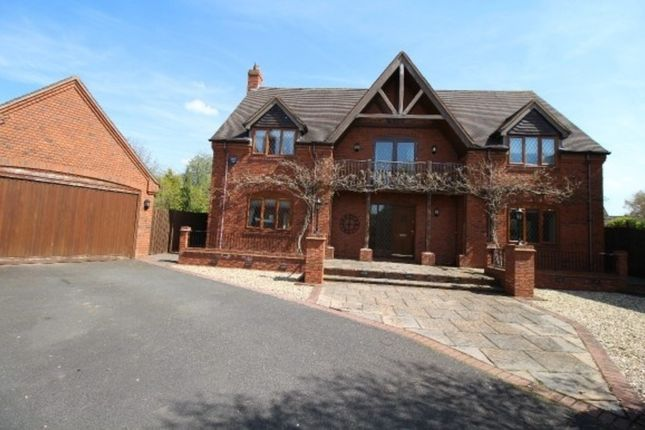 Thumbnail Detached house to rent in Field Farm Drive, Edingale, Tamworth
