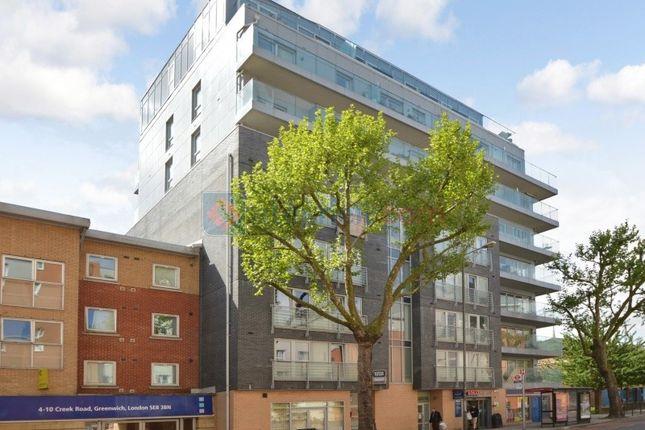 Thumbnail Flat for sale in Creek Road, London
