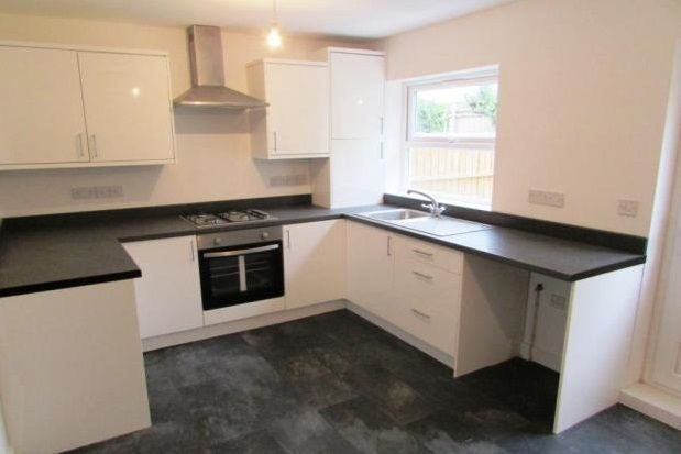 Thumbnail End terrace house to rent in Ashton Road, Hyde