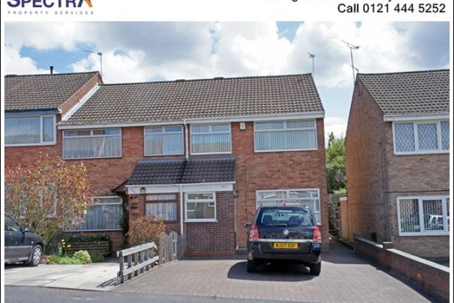 Thumbnail Terraced house to rent in Hazelwell Crescent, Stirchley, Birmingham