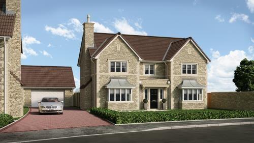 Thumbnail Detached house for sale in Number (Plot 13) Hawkesmead Close, Norton St Philip, Bath, Mendip