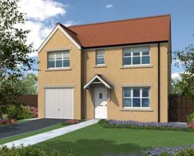 "Thumbnail Detached house for sale in ""The Winster"" at Hemlington Village Road, Hemlington, Middlesbrough"