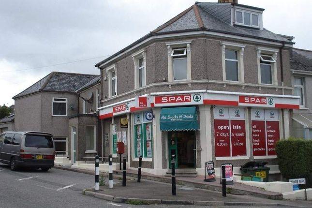 Thumbnail Retail premises for sale in Saltash, Cornwall