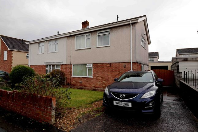 Thumbnail Semi-detached house for sale in Penrhos, Swansea