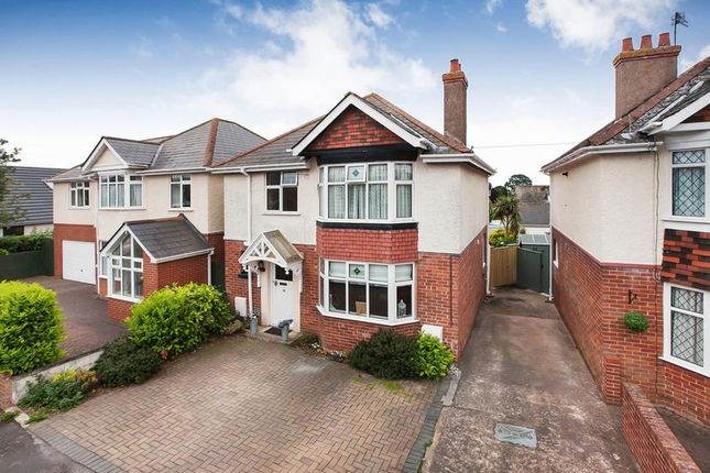 Thumbnail Detached house for sale in Iona Avenue, Exmouth