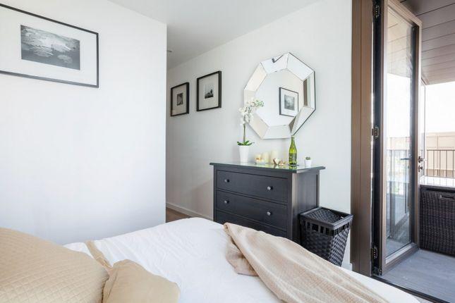 Bedroom of The Fulmar, Reminder Lane, Lower Riverside, Greenwich Peninsula SE10