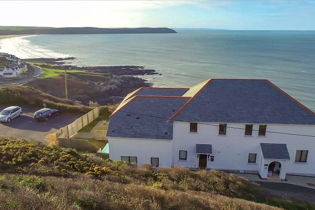 Arial From Rear of Mortehoe, Woolacombe EX34
