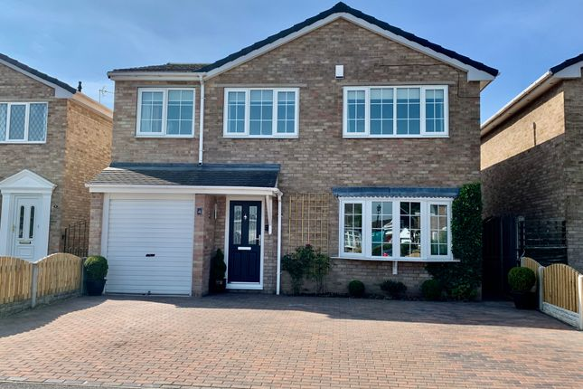Thumbnail Detached house for sale in Thorncliffe Gardens, Auckley, Doncaster