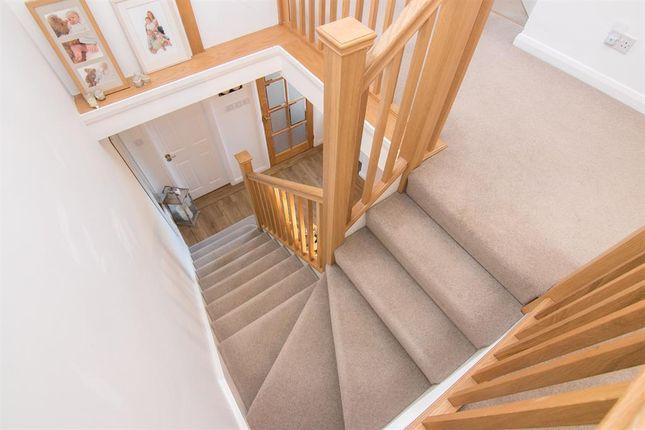 Stairwell of Thornton Crescent, Gayton, Wirral CH60