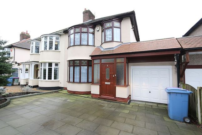 3 bed semi-detached house for sale in Score Lane, Liverpool, Merseyside