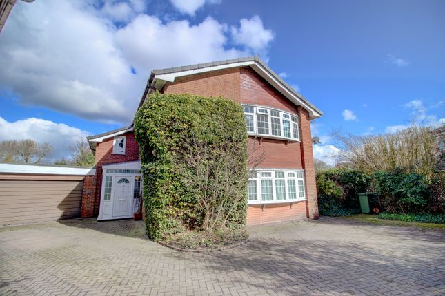 Thumbnail Detached house for sale in Chapel Close, Comberbach, Northwich
