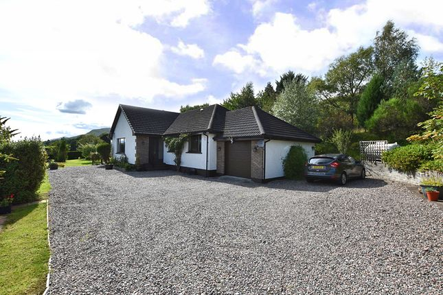 Thumbnail Detached bungalow for sale in Muirshearlich, Banavie, Fort William