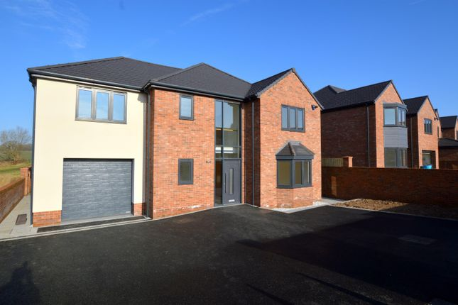 Thumbnail Detached house for sale in Plot 1 - Station Road, Pilsley, Chesterfield