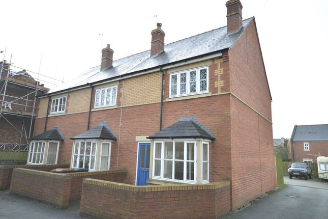 Thumbnail Semi-detached house to rent in Glanaber Terrace, Oak Street, Oswestry