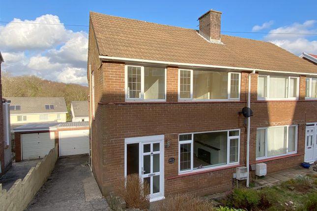 Semi-detached house to rent in Cwmgelli Close, Treboeth, Swansea